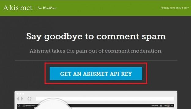 Get-an-Akismet-API-key