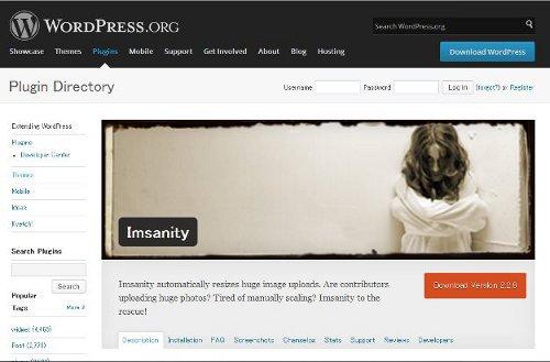 WordPressにアップロードした画像を一括で縮小!!「Imsanity」