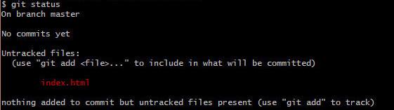 git statusコマンドでファイルのステータスを確認する方法