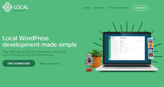 WordPressのローカル開発環境を簡単に構築できる無料ツール Local