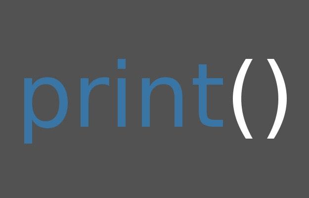 Python3の標準出力の仕方 print関数