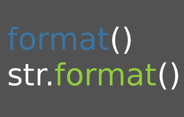 Pythonのformat関数、formatメソッドの使い方